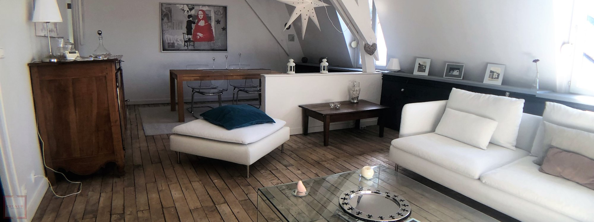 SUBLIME APPARTEMENT AU COEUR DE LA VILLE - T3451vj